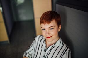 Kuvassa Jaana Tiiri / Kuva: Niko Jekkonen